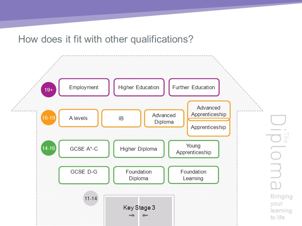 Bringing your learning to life How does it fit with other qualifications.