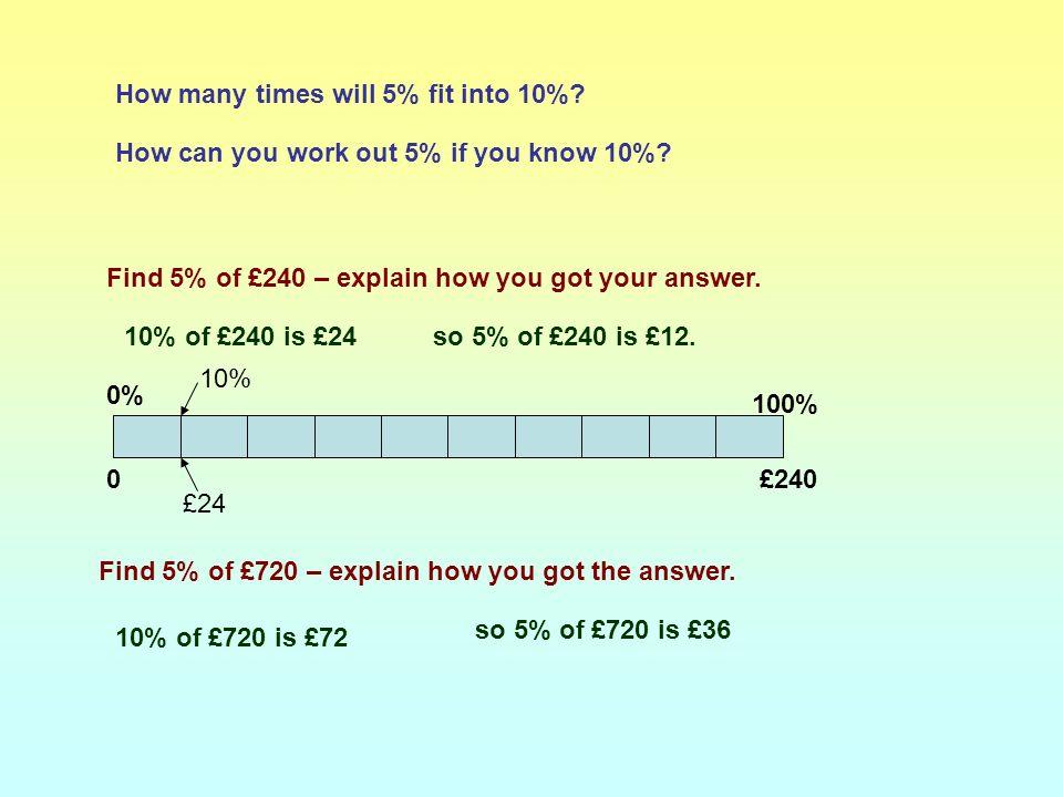 60 10% 20% 30% 40% 50% 60% 6 12 1824 30 36 Answers: