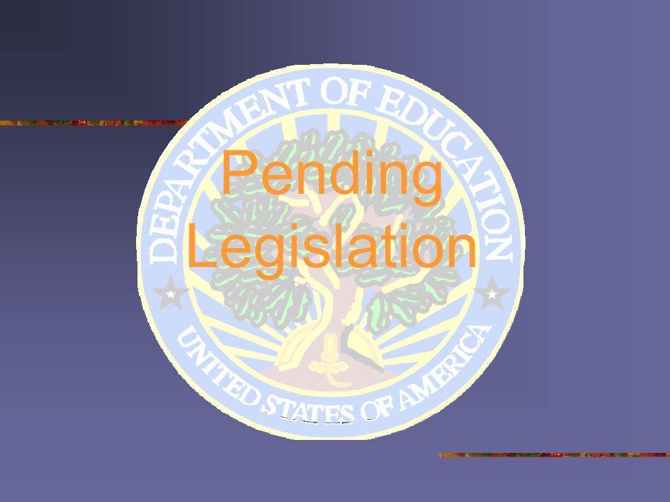 Pending Legislation