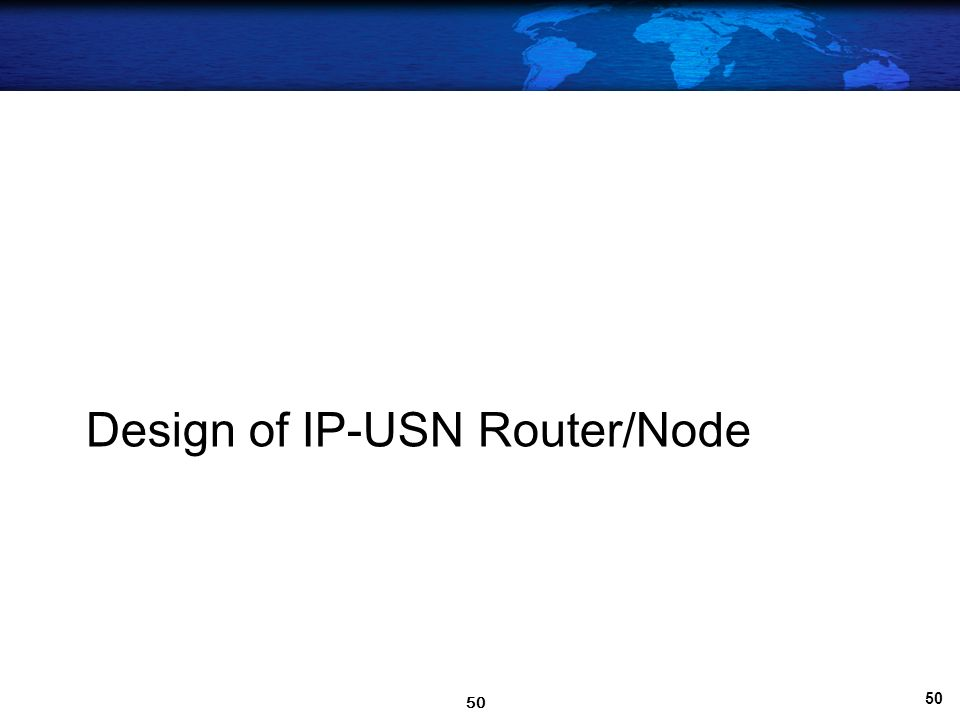 49 Web-based USN Management & Monitoring page 49