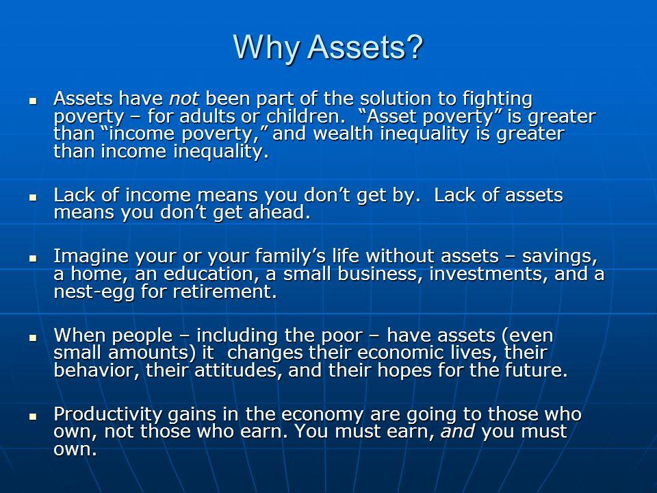 Why Childrens Savings Accounts.