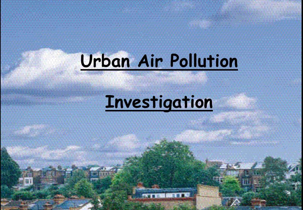 Urban Air Pollution Investigation