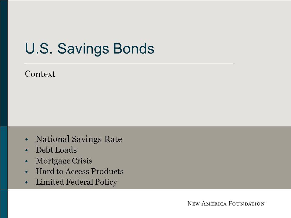 Legislation to Facilitate Savings through U.S. Savings Bonds New Savers Act Savers Bonus Act