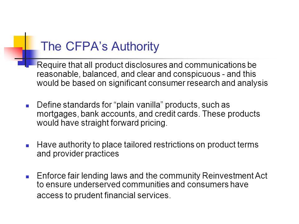 CFPA Staffing.