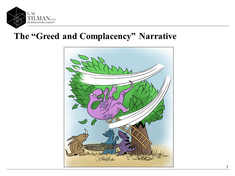 9 Greed and ComplacencyFinancial Darwinism