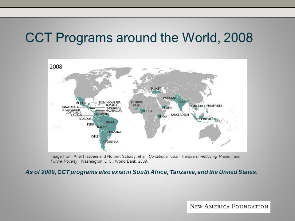 Making CCTs Work Better for the Poor Scaling up need not be the only priority.