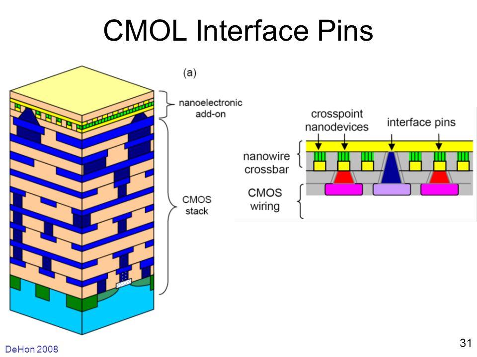 DeHon 2008 31 CMOL Interface Pins