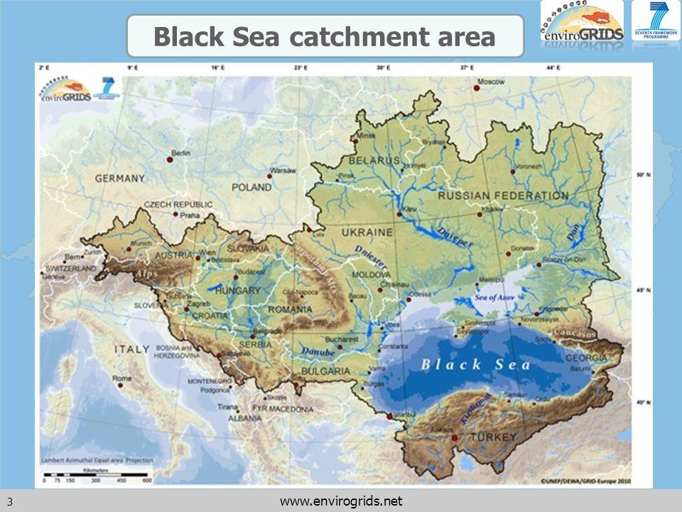 3 www.envirogrids.net Black Sea catchment area