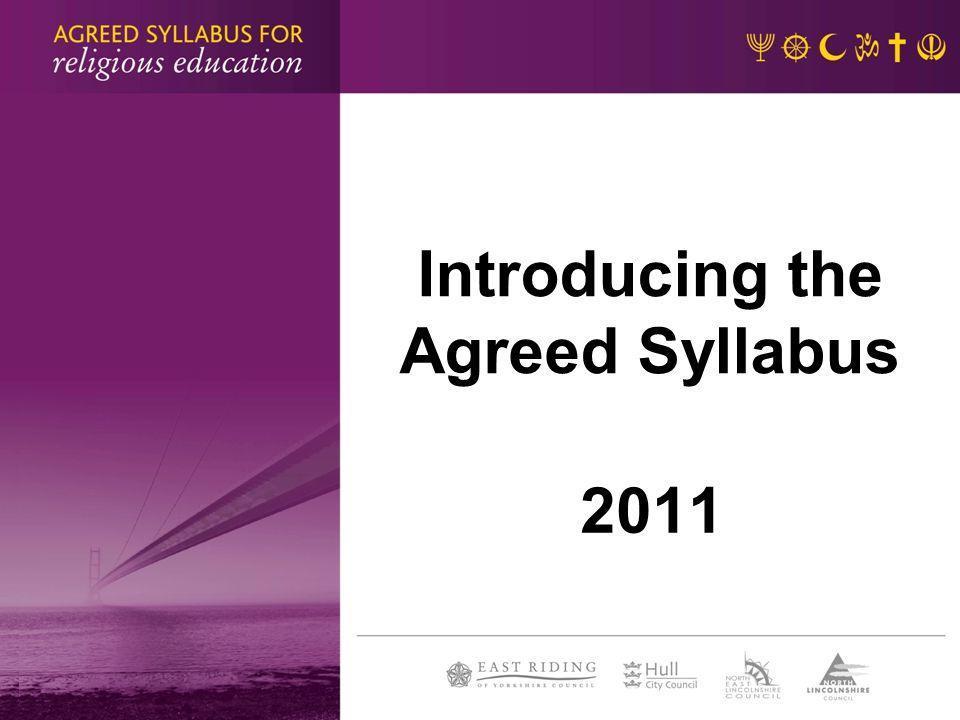 Why a new syllabus.