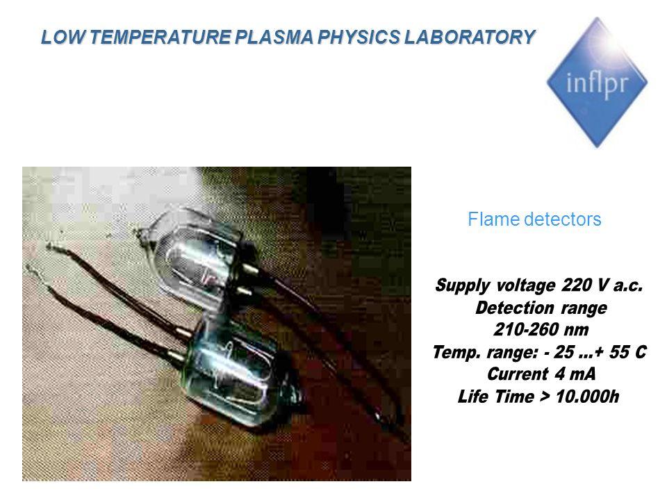 LOW TEMPERATURE PLASMA PHYSICS LABORATORY
