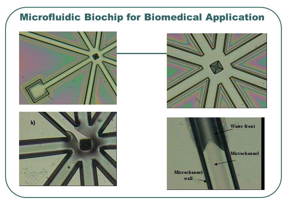 Microfluidic Biochip for Biomedical Application