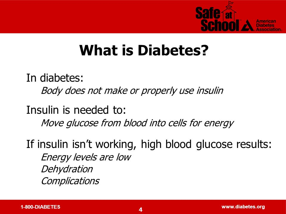 1-800-DIABETES   What is Diabetes.