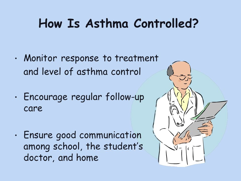 How Is Asthma Controlled.