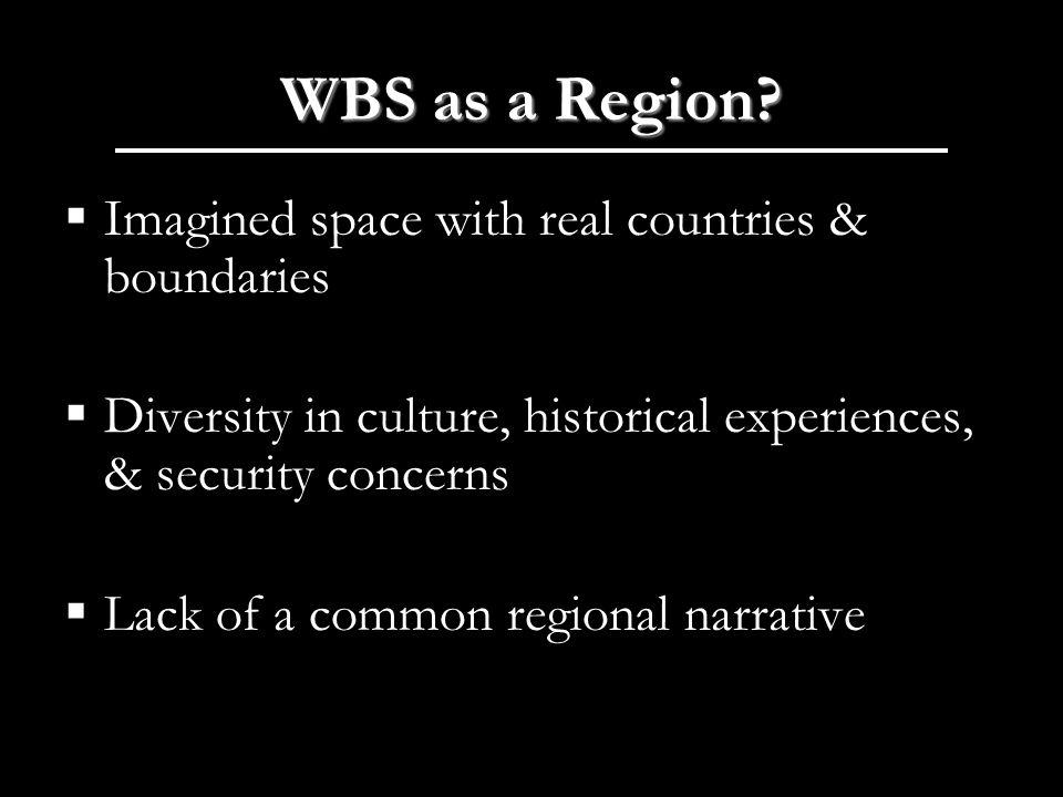 WBS as a Region.