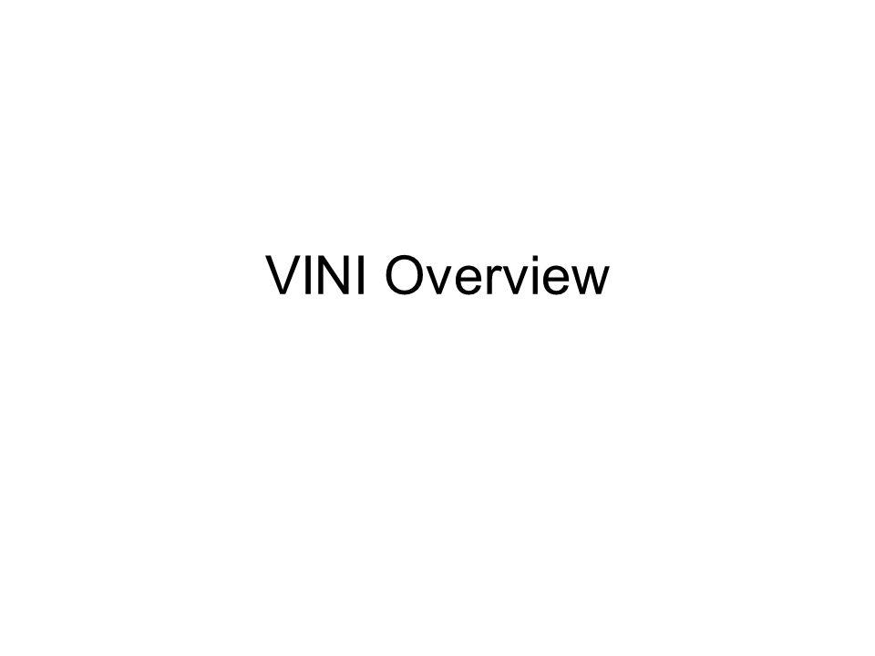 VINI Overview