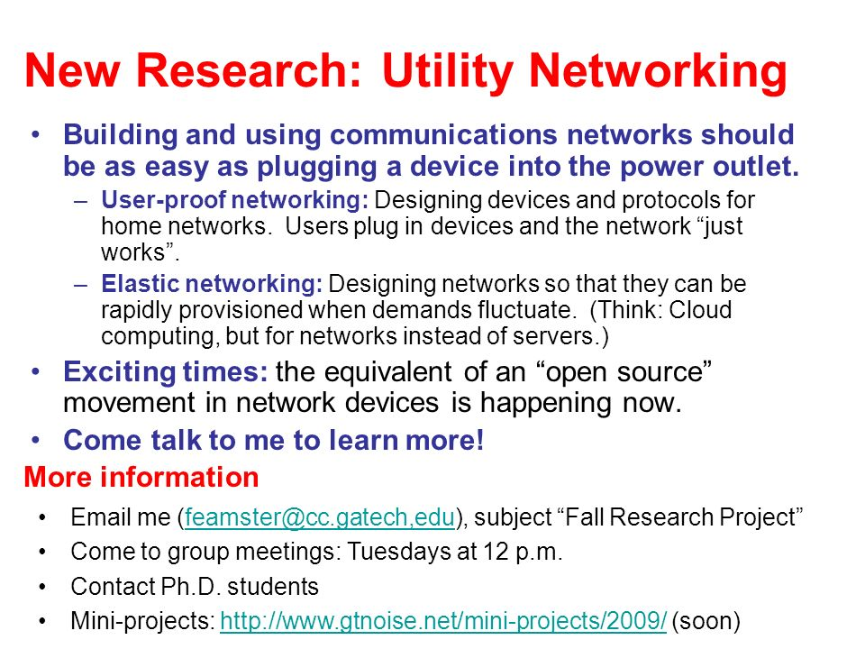New Research: Utility Networking Building and using communications networks should be as easy as plugging a device into the power outlet.