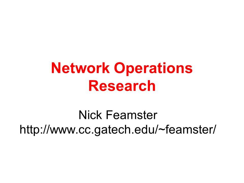 Network Virtualization ACM SIGCOMM 2006