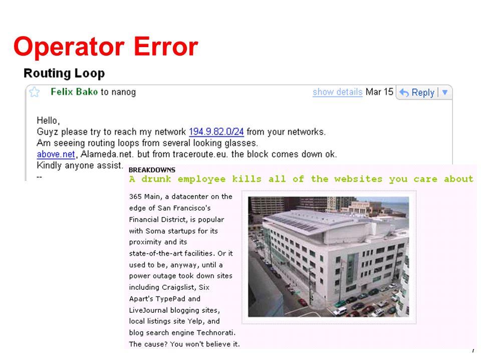 7 Operator Error