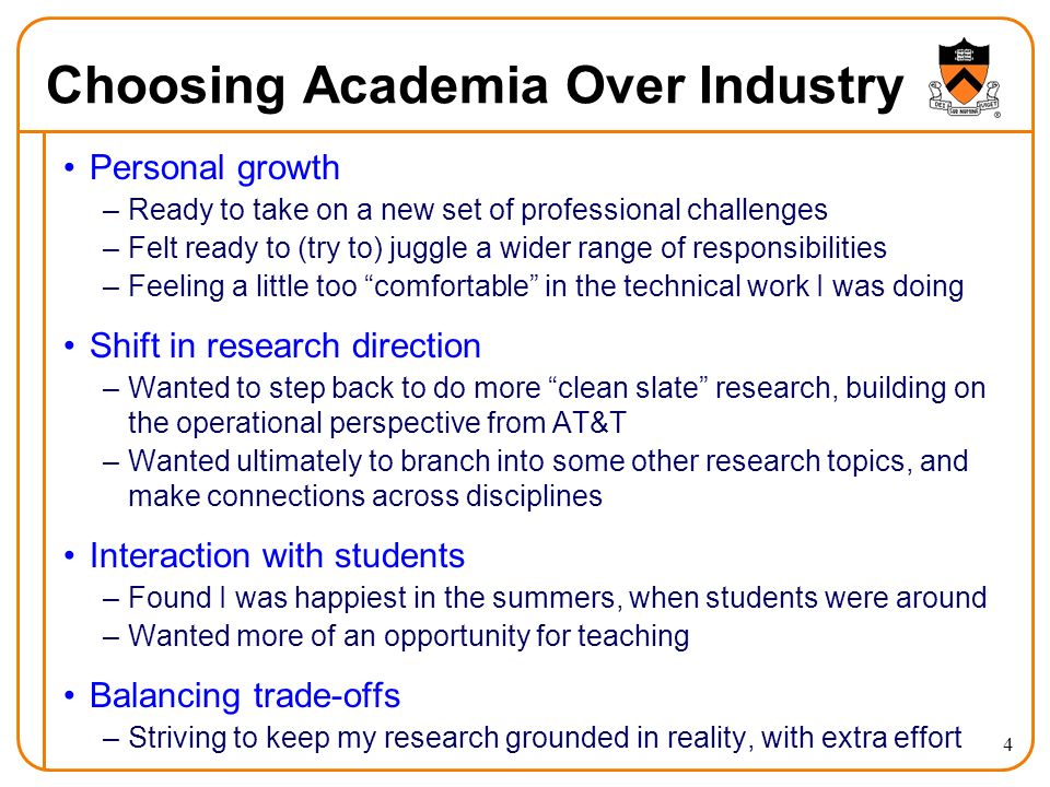 5 What Does Industry Look For.