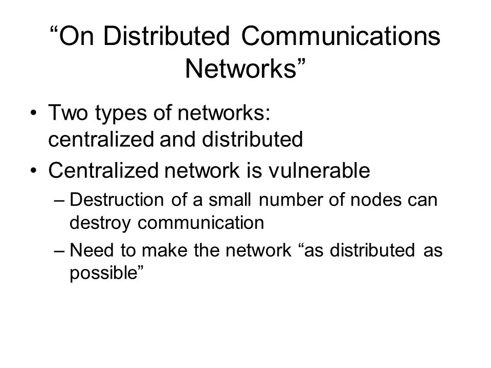 Figures of Each Type of Network