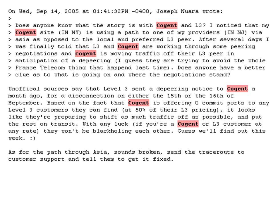 http://66.249.93.104/search?q=cache:NOS3HJhX9jcJ:www.merit.edu/mail.archives/nanog/msg11606.html+level3 +network+status+cogent&hl=it