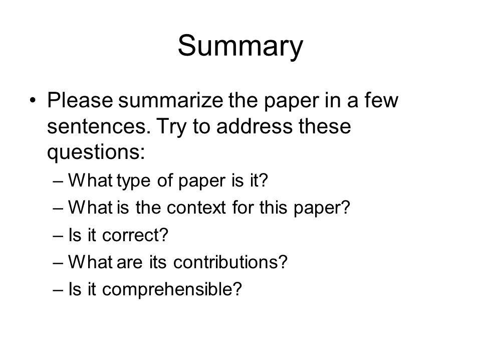 Summary Please summarize the paper in a few sentences.