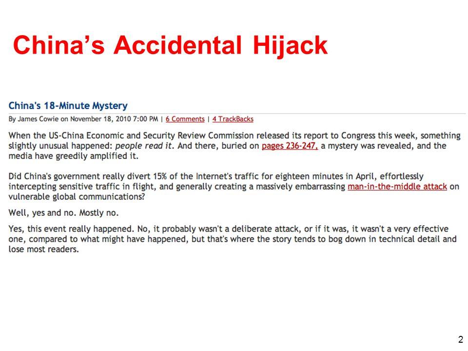Chinas Accidental Hijack 2