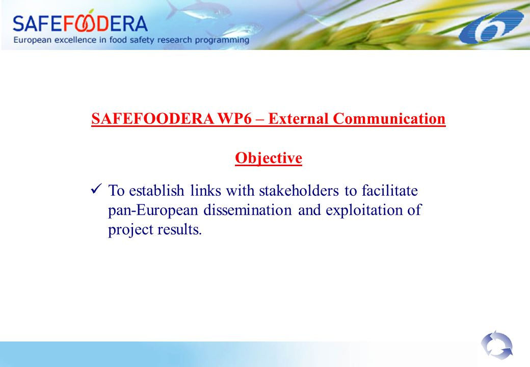 1.What are the main field of research infrastructures that are needed to improve food safety research.