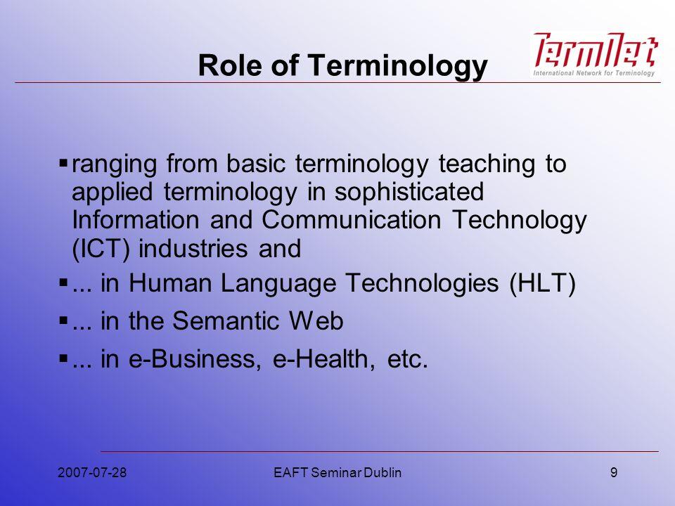 2007-07-28EAFT Seminar Dublin50