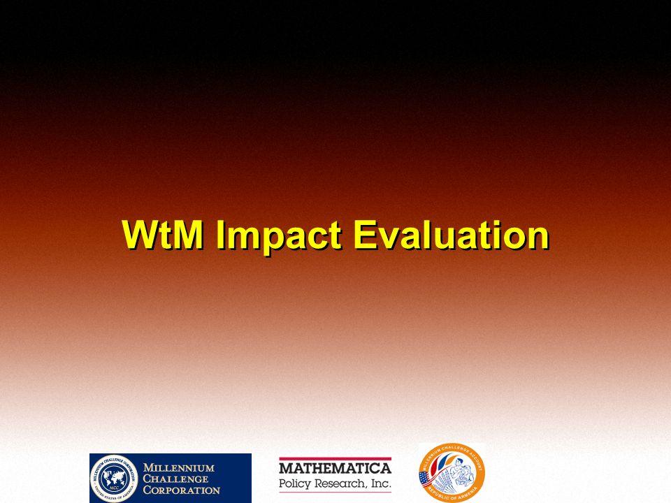 WtM Impact Evaluation