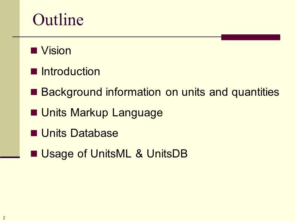 13 UnitsML Root Level
