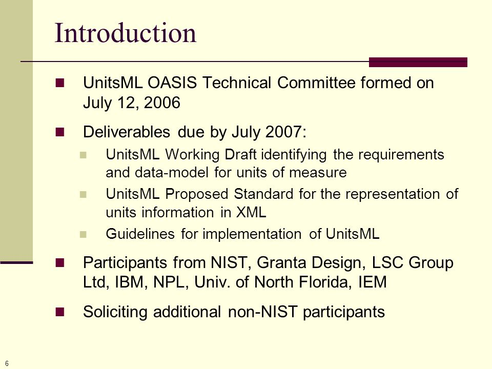 27 Resources For the most recent UnitsML schema and documentation with images, go to: http://unitsml.nist.gov For information about SI units and non-SI units for the U.S., go to: http://physics.nist.gov/sp811 Thank you for your attention.