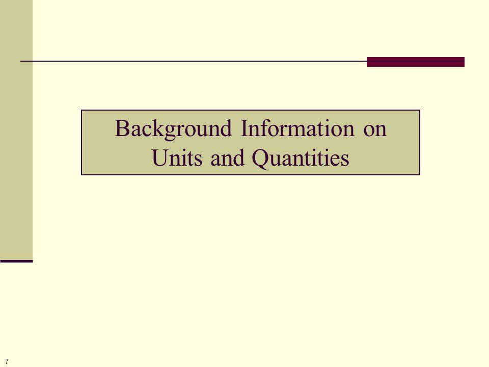 18 Quantity Element Attributes xml:id dimensionURL Elements UnitReference