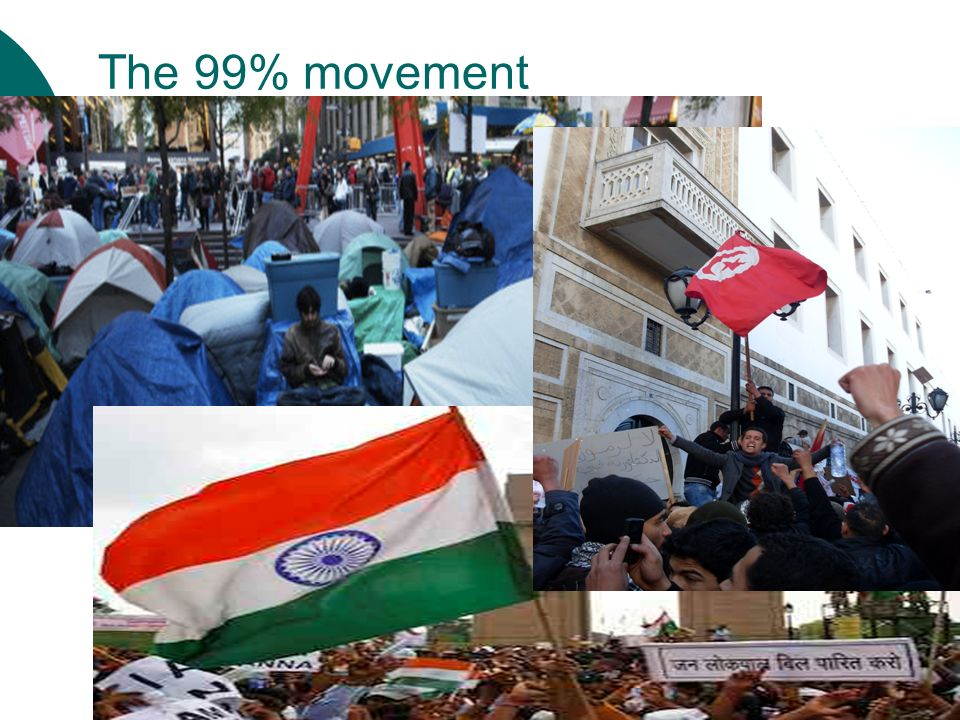The 99% movement