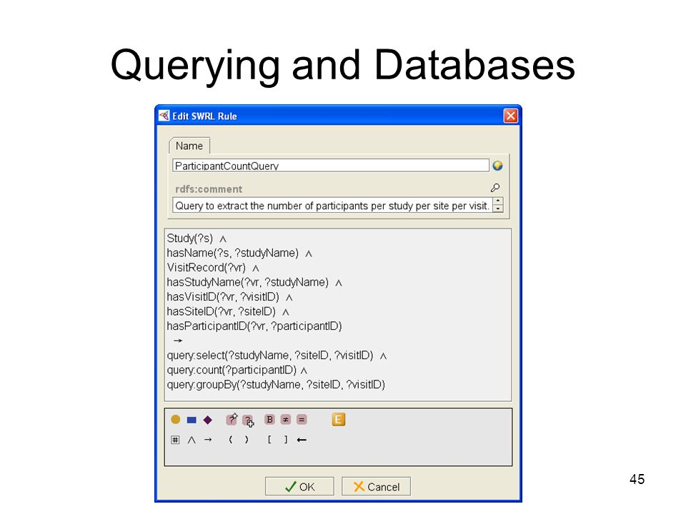 45 Querying and Databases