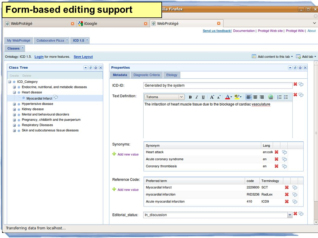 19 Form-based editing support