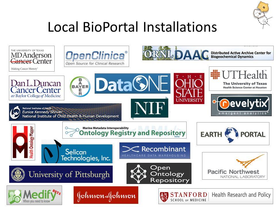 Local BioPortal Installations 18