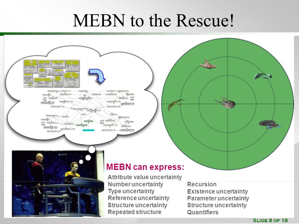 Slide 8 of 18 MEBN to the Rescue.
