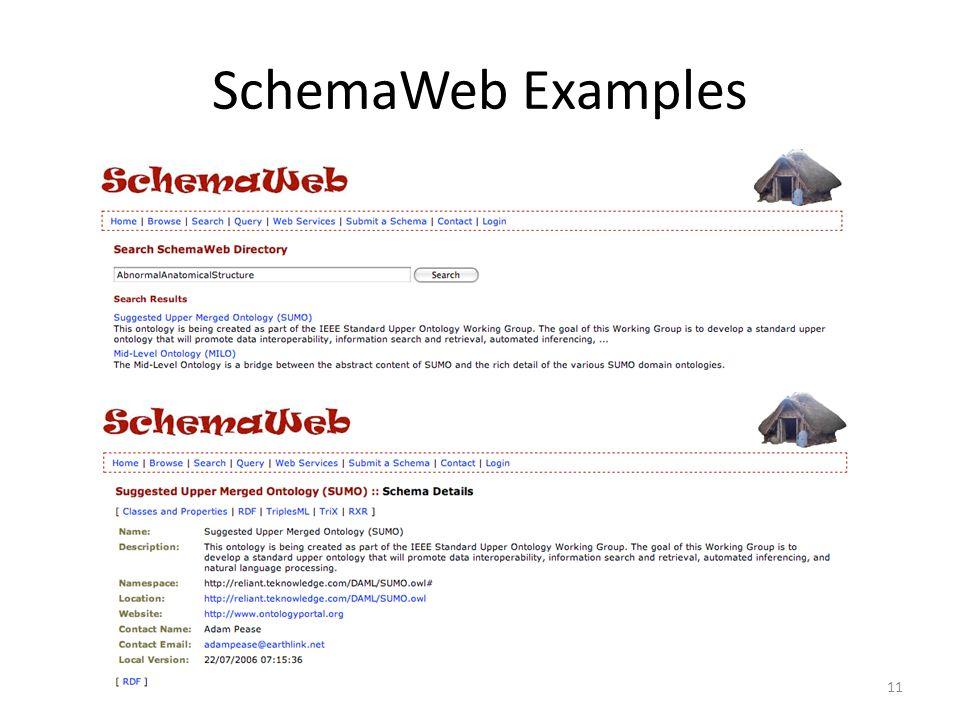 SchemaWeb Examples 11
