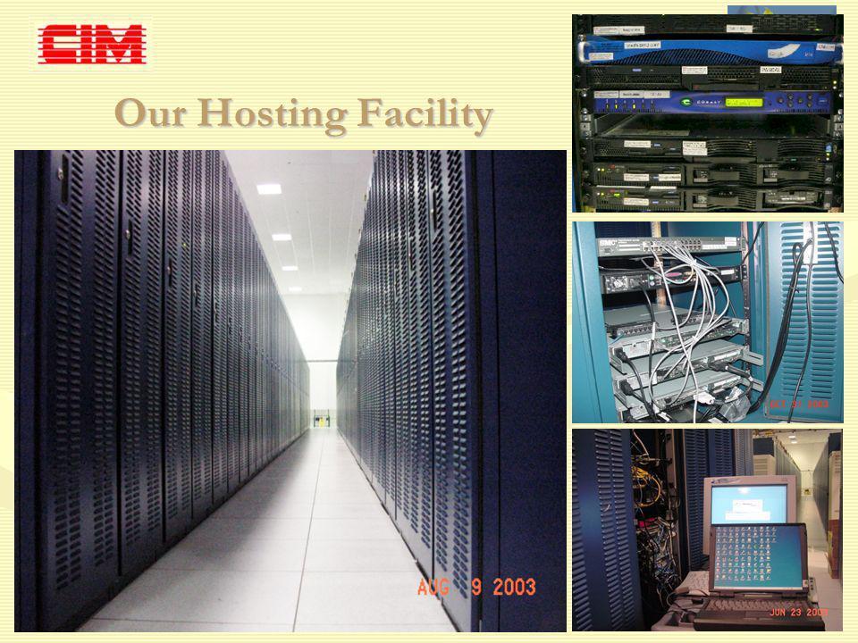 ppy/CODS--CIM3-BMIR_20071011/Nov-2007 8 of 12 Our Hosting Facility