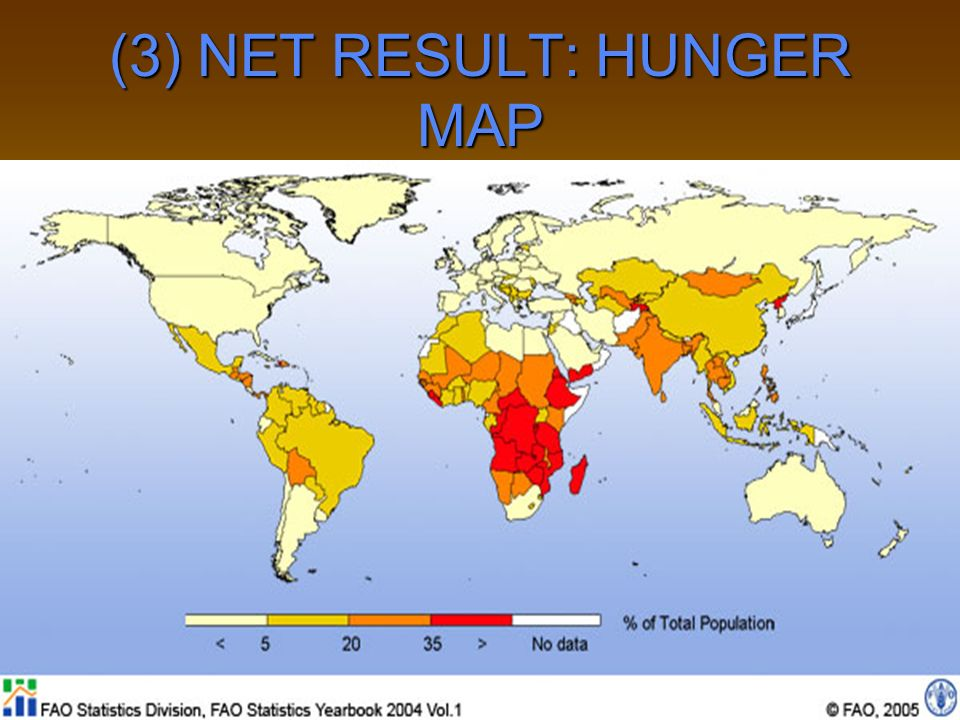 (3) NET RESULT: HUNGER MAP