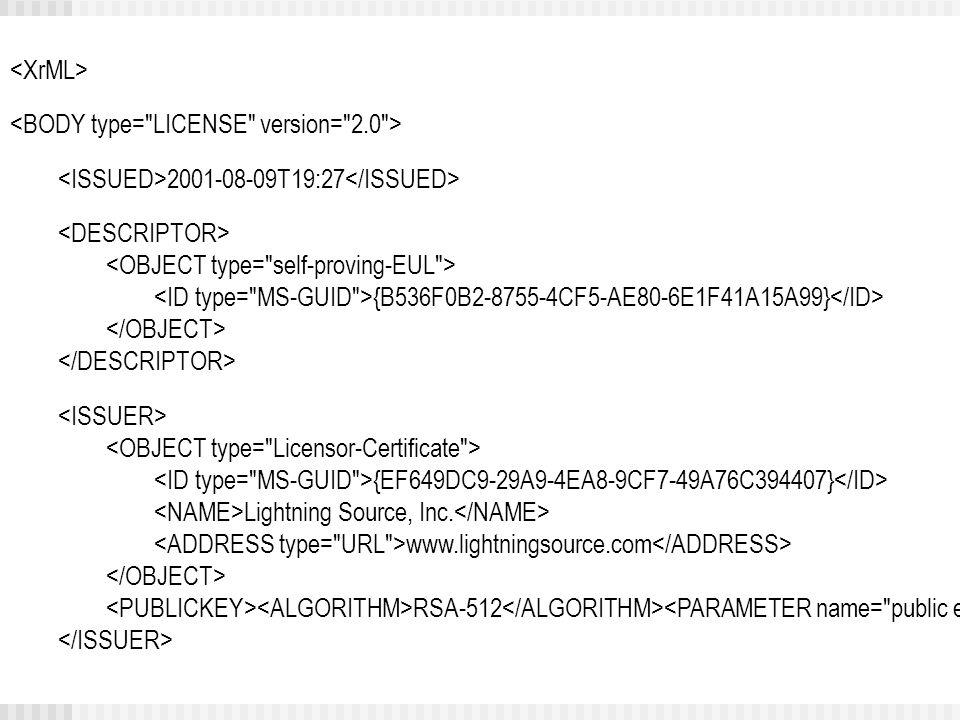 2001-08-09T19:27 {B536F0B2-8755-4CF5-AE80-6E1F41A15A99} {EF649DC9-29A9-4EA8-9CF7-49A76C394407} Lightning Source, Inc.