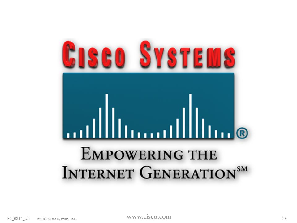 28 © 1999, Cisco Systems, Inc. F0_6844_c2