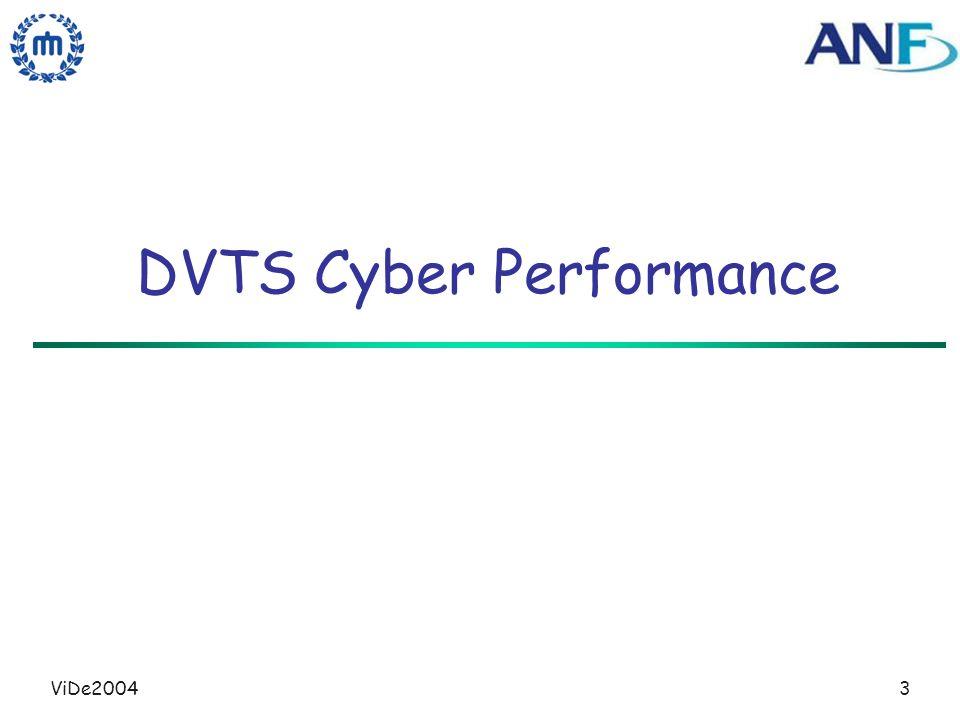 ViDe20043 DVTS Cyber Performance