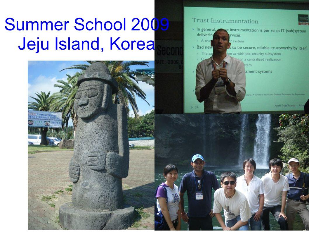 Summer School 2009 Jeju Island, Korea