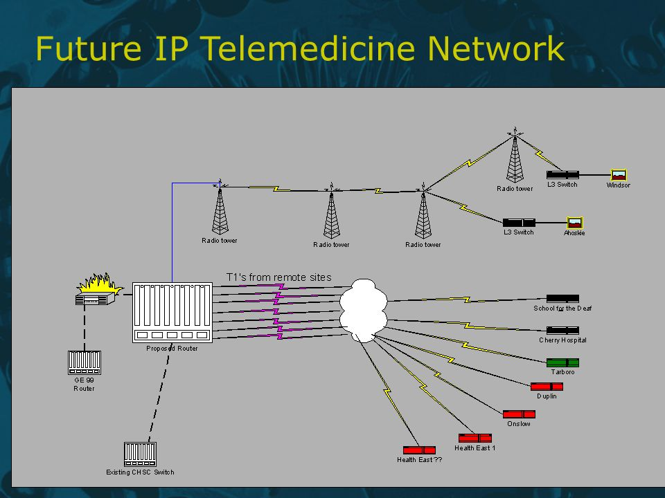 Future IP Telemedicine Network