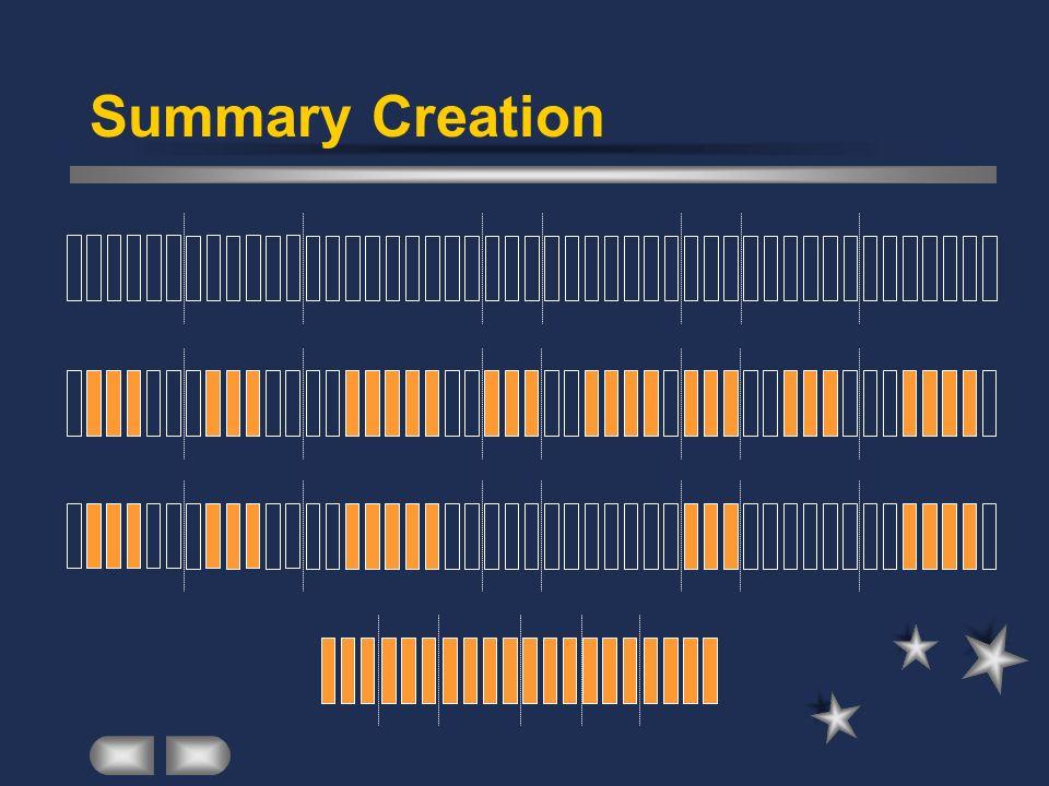 Summary Creation