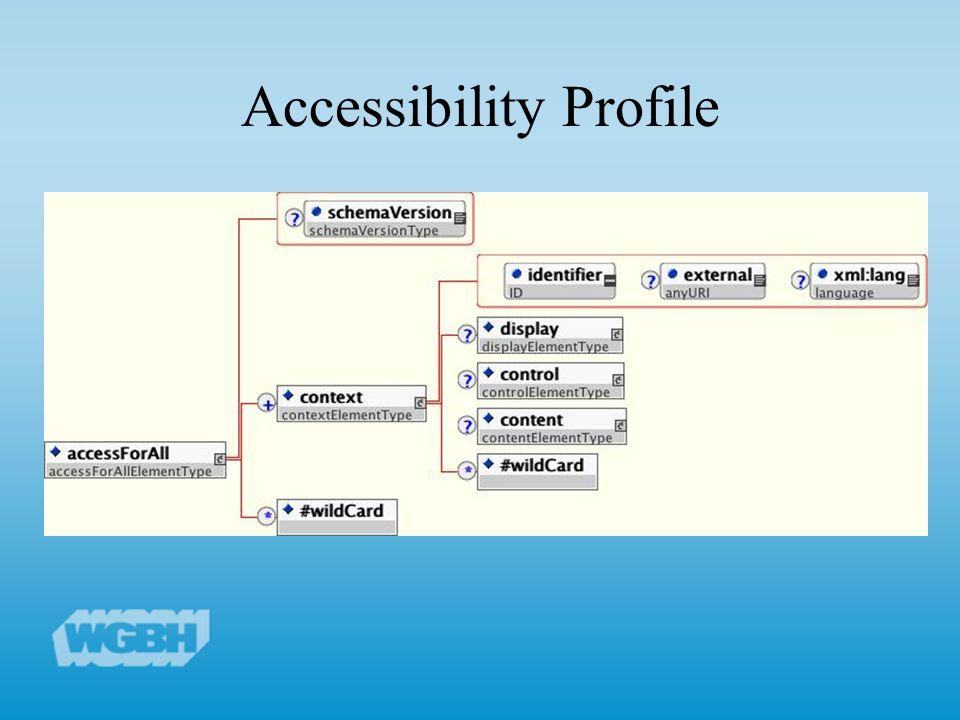 Accessibility Profile