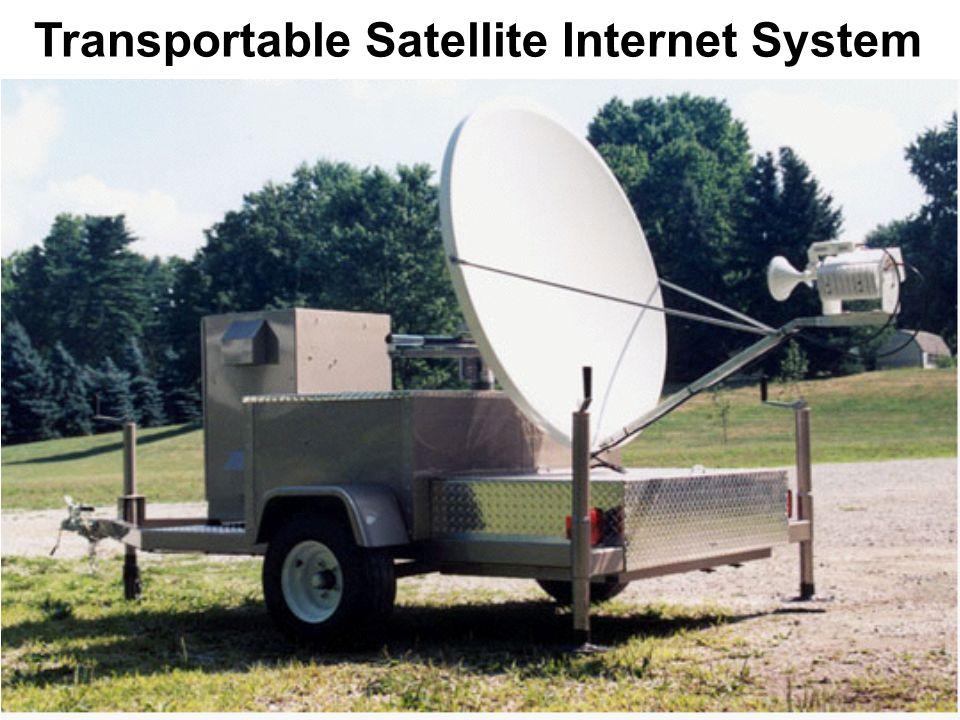 Transportable Satellite Internet System