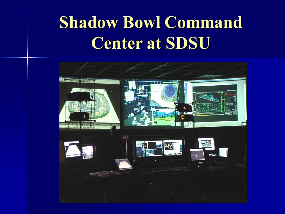 Shadow Bowl Command Center at SDSU